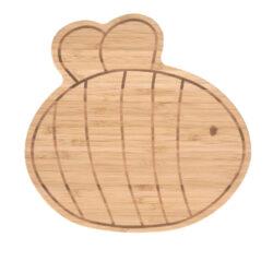 Breakfast Board Bamboo Wood Garden Explorer bee(7244.007)