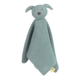 Knitted Baby Comforter Little Chums dog-dětský utěšitel