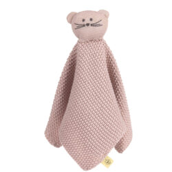 Knitted Baby Comforter Little Chums mouse-dětský utěšitel