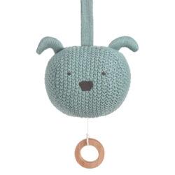 Knitted Musical Little Chums dog-hudební hračka