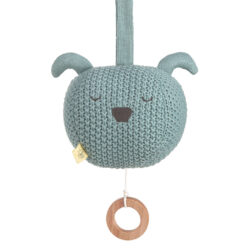 Knitted Musical Little Chums dog(7329.001)