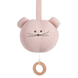 Knitted Musical Little Chums mouse-hudobná hračka
