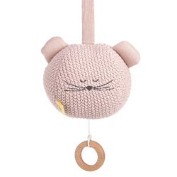 Knitted Musical Little Chums mouse(7329.003)