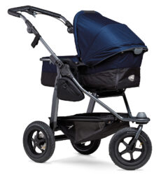 Mono combi pushchair - air wheel navy - kombinovaný kočárek