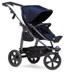 Mono combi pushchair - air chamber wheel navy  (5391.334)