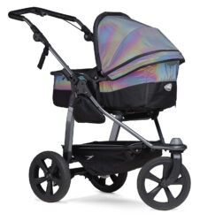Mono combi pushchair - air chamber wheel glow in the dark - kombinovaný kočárek