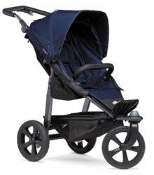 Mono stroller - air chamber wheel navy-sportovní kočárek