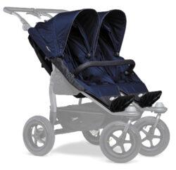 stroller seats Duo navy-sportovní sedačky na kočárek Duo