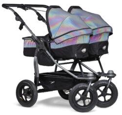 Duo combi pushchair - air wheel glow in the dark-kombinovaný kočárek