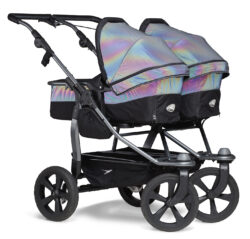 Duo combi pushchair - air chamber wheel glow in the dark - kombinovaný kočárek