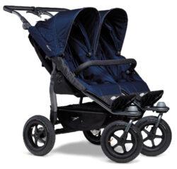 Duo stroller - air wheel navy-sportovní kočárek