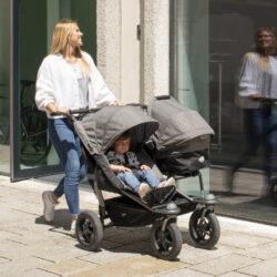 Duo stroller - air wheel navy(5396.334)