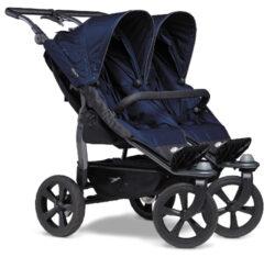 Duo stroller - air chamber wheel navy-sportovní kočárek