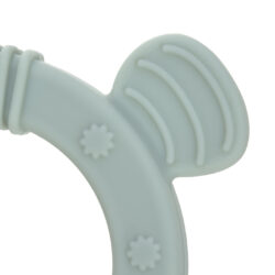 Teether Ring 2in1 Wood/Silikone Little Chums dog(73162.03)