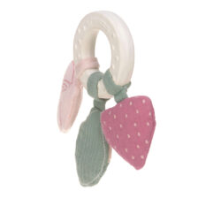 Teether Ring Natural Rubber butterfly  (7316N.01)