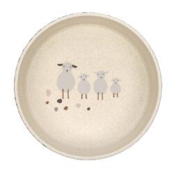 Bowl PP/Cellulose Tiny Farmer Sheep/Goose nature(7246C.01)