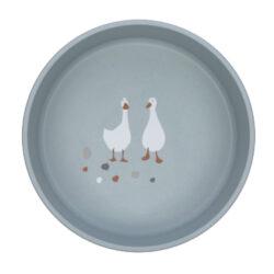 Bowl PP/Cellulose Tiny Farmer Sheep/Goose blue(7246C.02)