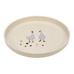 Plate PP/Cellulose Tiny Farmer Sheep/Goose nature-dětský talíř