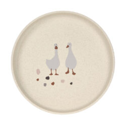 Plate PP/Cellulose Tiny Farmer Sheep/Goose nature(7243C.01)