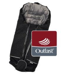 fusak Luxe Outlast 2021 černá/stříbrný prošev/šedá-fusak