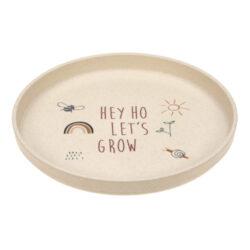Plate PP/Cellulose Garden Explorer-dětský talíř