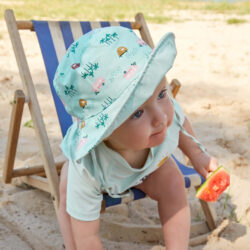 Sun Bucket Hat spotted white 18-36 mo.(7289.313)