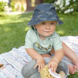 Sun Bucket Hat caravan mint 09-12 mo.(7289.342)