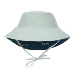 Sun Bucket Hat sea snake blue 09-12 mo.(7289.352)