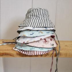 Sun Bucket Hat crocodile white 09-12 mo.(7289.362)