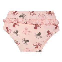 Swim Diaper Girls octopus rose 12 mo.(7287G.M2)