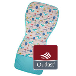 podložka do kočárku Outlast mint liška(6396.006)