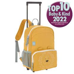 Trolley/Backpack About Friends lion-dětský kufr/batoh