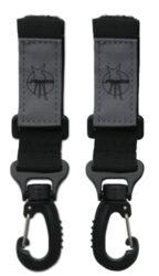 Casual Stroller Hooks black-háčky