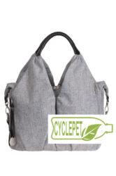 Green Label Neckline Bag black mélange-taška na rukojeť