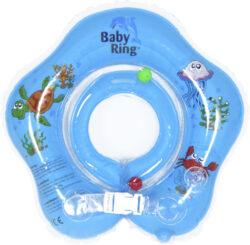 Baby Ring 3-36 měs. modrá-nafukovací kruh