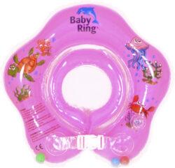 Baby Ring 3-36 měs. růžová-nafukovací kruh