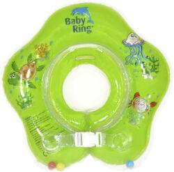 Baby Ring 0-24 měs. zelená-nafukovací kruh