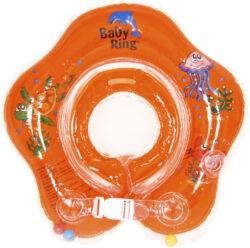 Baby Ring 0-24 měs. oranžová-nafukovací kruh