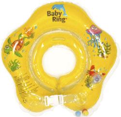Baby Ring 0-24 měs. žlutá-nafukovací kruh