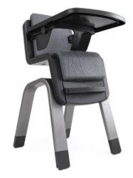 ZAAZ pewter-jídelní židlička