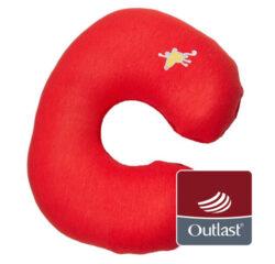 cestovní polštářek červená/červená-cestovní polštářek