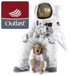 podložka do kočárku Outlast šedá hvězda(6396.002)