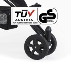 Swivel wheel T-008-DR-přední dvoukolo Joggster Sport