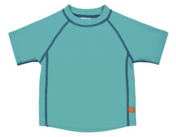 Rashguard Short Sleeve Boys 2019 lagoon 12 mo.-tričko