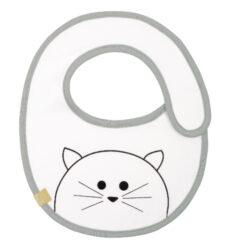 Small Bib Waterproof Little Chums cat-bryndák