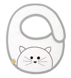 Small Bib Waterproof Little Chums cat - bryndák