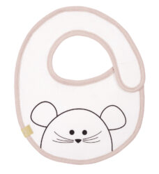 Small Bib Waterproof Little Chums mouse-bryndák