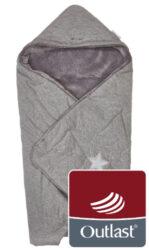 zavinovačka multifunkční Mazlík Outlast 2020 šedá/šedá-zavinovačka