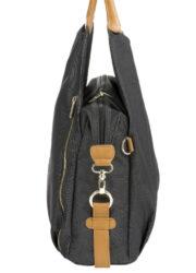 Green Label Neckline Bag 2020 denim black(7101.012)