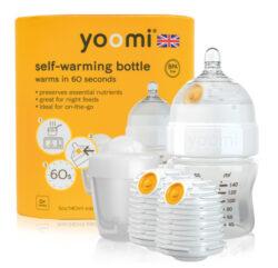 5oz Bottle/2 x Warmer/Teat/Pod 2019 - Y15B2W1P-kojenecká láhev, 2x ohřívač, savička a nádoba na ohřívač